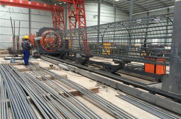 Ang pinakamaayo nga presyo nga hinay-hinay nga wire mesh roll machine, Gipakusgan ang hawla hugasan nga welder nga diametro nga 500-2000mm