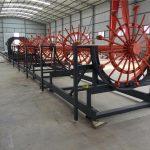 steel pile cage welding machine, steel rebar cage making machine