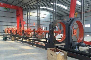 Ang cnc steel cage welding machine steel roll seam welder gamiton alang sa pagtukod