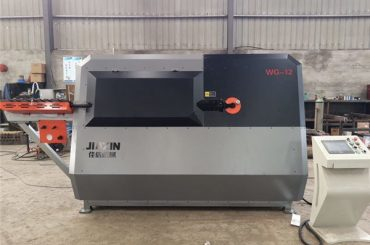 china manufacturer 4-12mm automatic cnc control steel wire, rebar bending machine